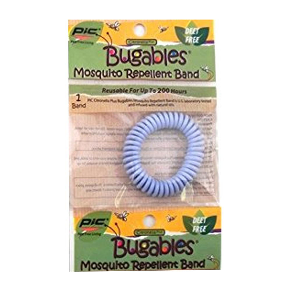 Pic Corp Blue 200 Hour Bugables Citronella Spiral Band BUG-COILBAND