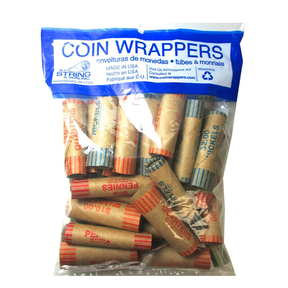 N.F. String & Son Inc. - 36 Count Mixed Coin Wrapper 1040