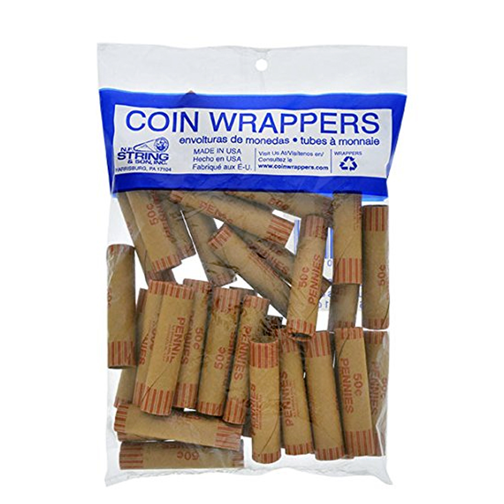 N.F. String & Son Inc. - 36 Count Penny Coin Wrapper 1041