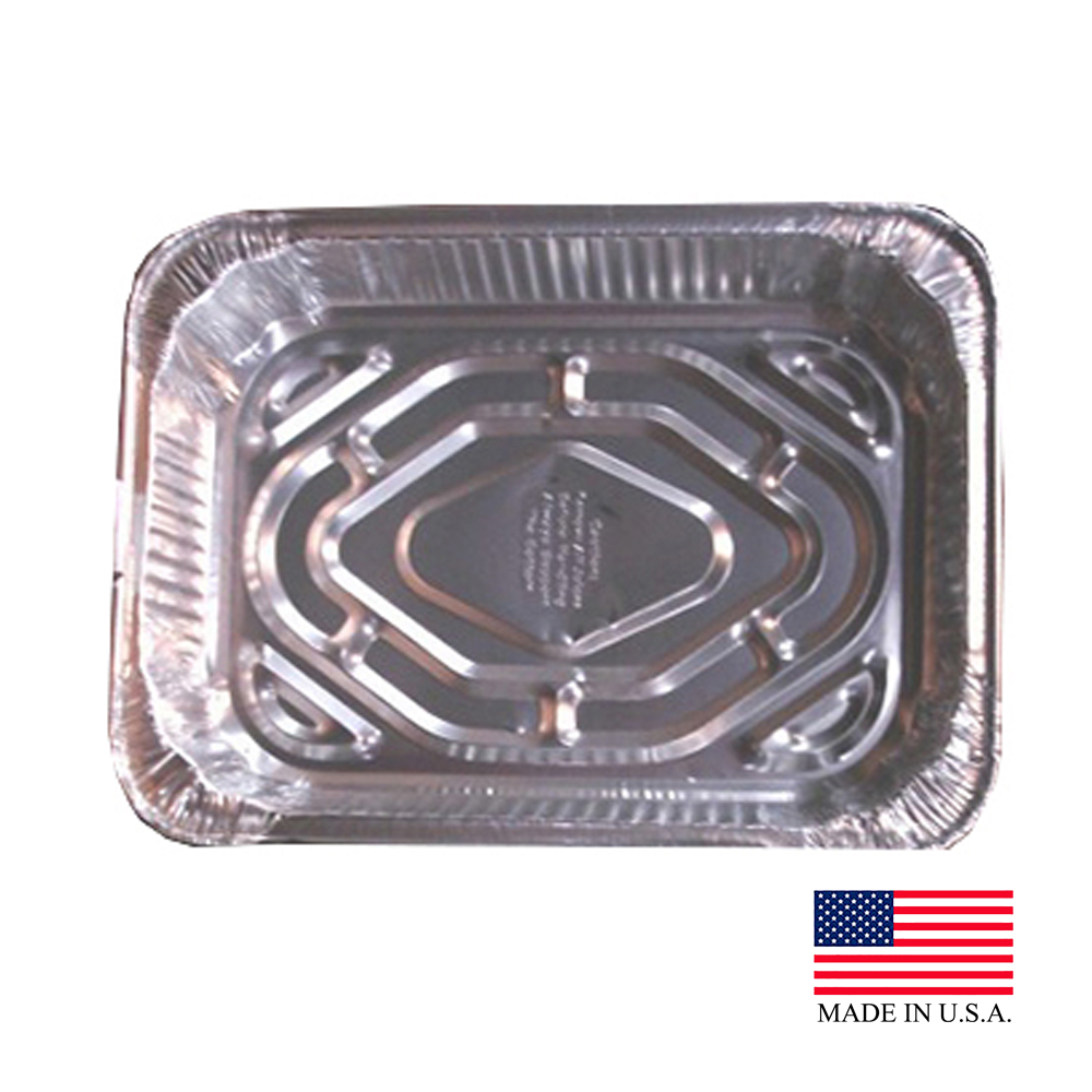Durable Aluminum Rectangular Roaster Pan 4111-100ZZ
