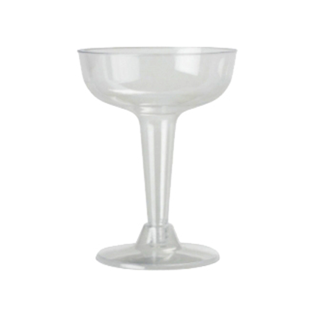 Clear Large Plastic Margarita Glass 118200