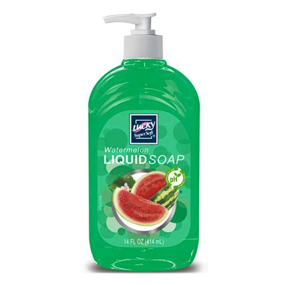 Delta Brands 14oz Lucky Super Soft Watermelon Liquid Soap 3213-12