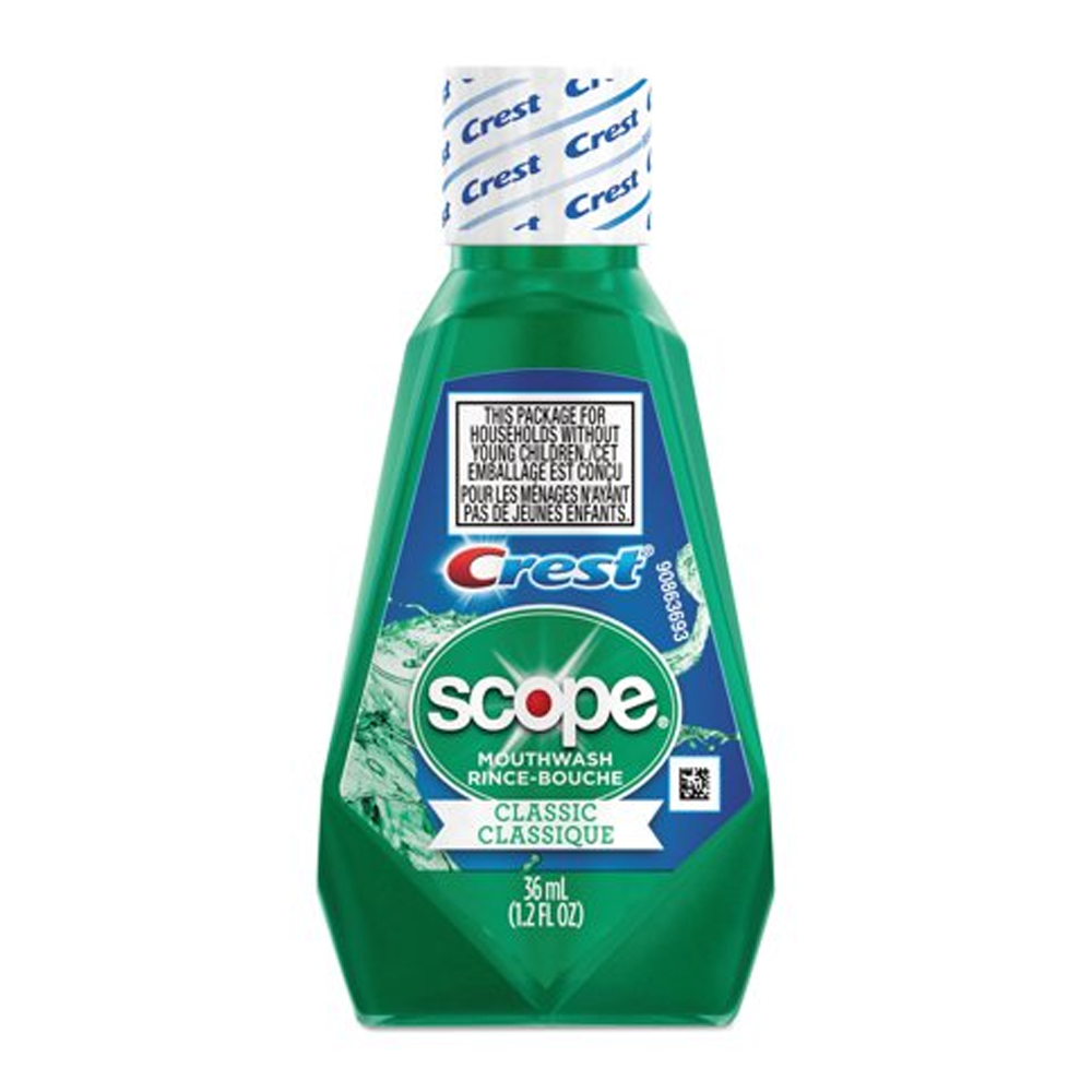 Procter & Gamble - Crest/Scope 36 ml Mouthwash Classic Mint 97506