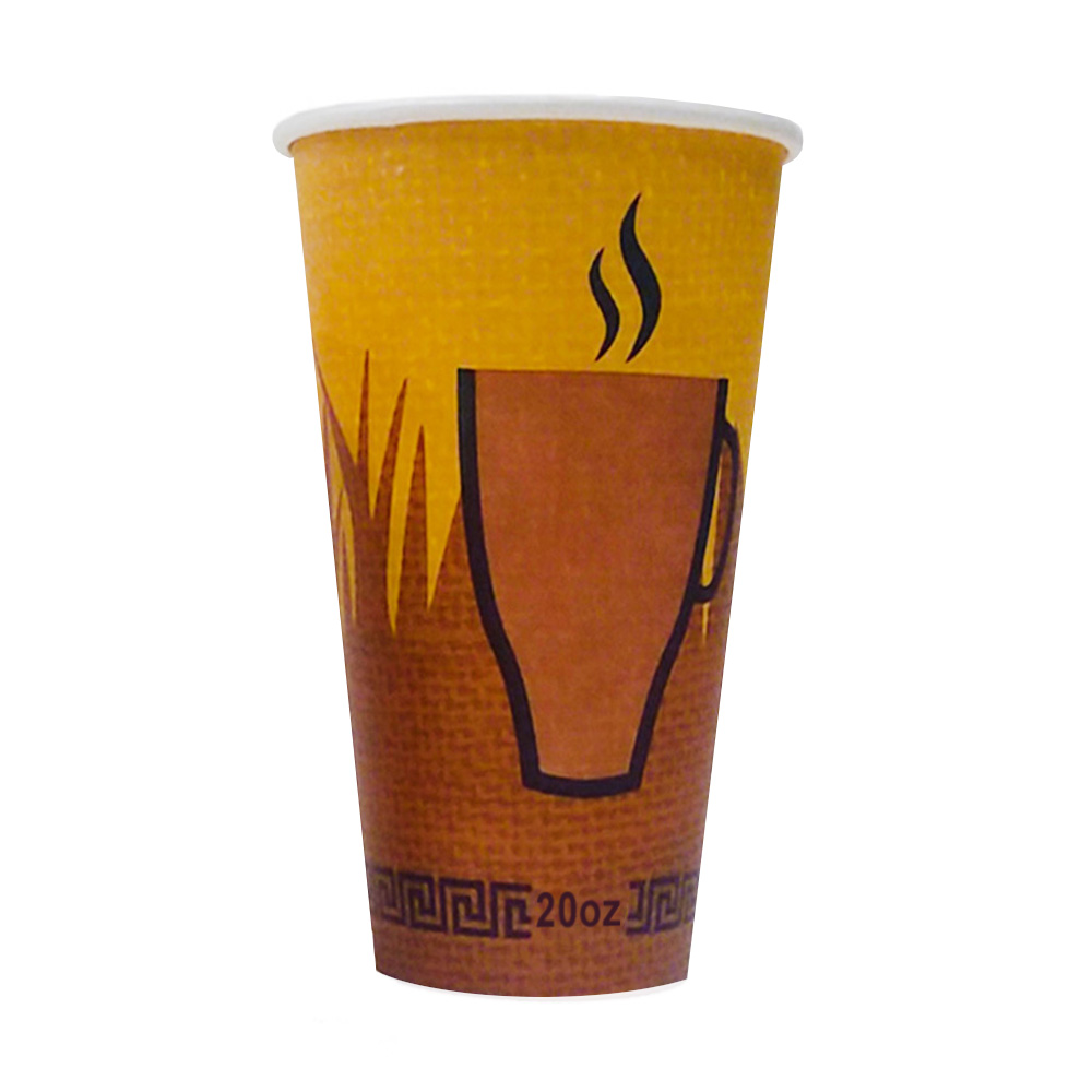 Fresh Cup - Printed 20 oz. Paper Hot Cup FC20HC