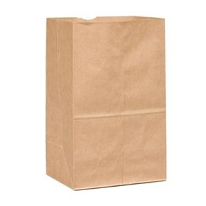 Duro Bag Mfg. - Kraft 25 lb. Paper Heavy Duty Shorty Husky Bag 70224
