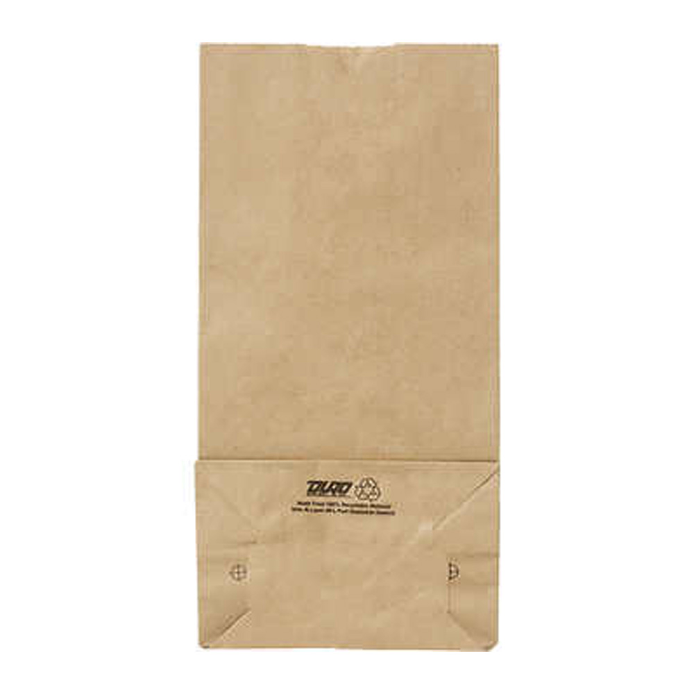 Duro Bag Kraft 1/4 #66 Sachel Bottom Paper Buffalo Sack 80096