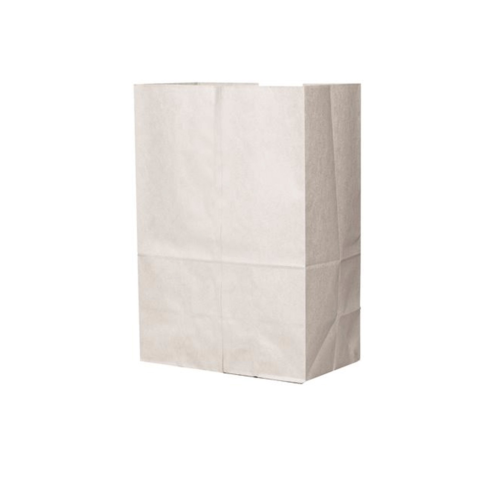 Duro Bag Mfg. - White 20# Shorty Paper Bag 51041