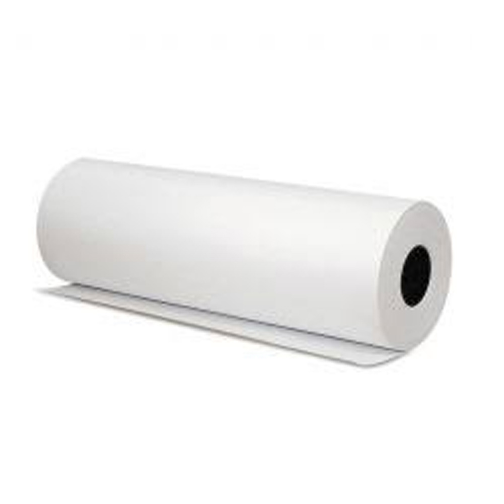 "Mcnairn Packaging - White 18""x2000' Parchment     Paper Roll 019403"