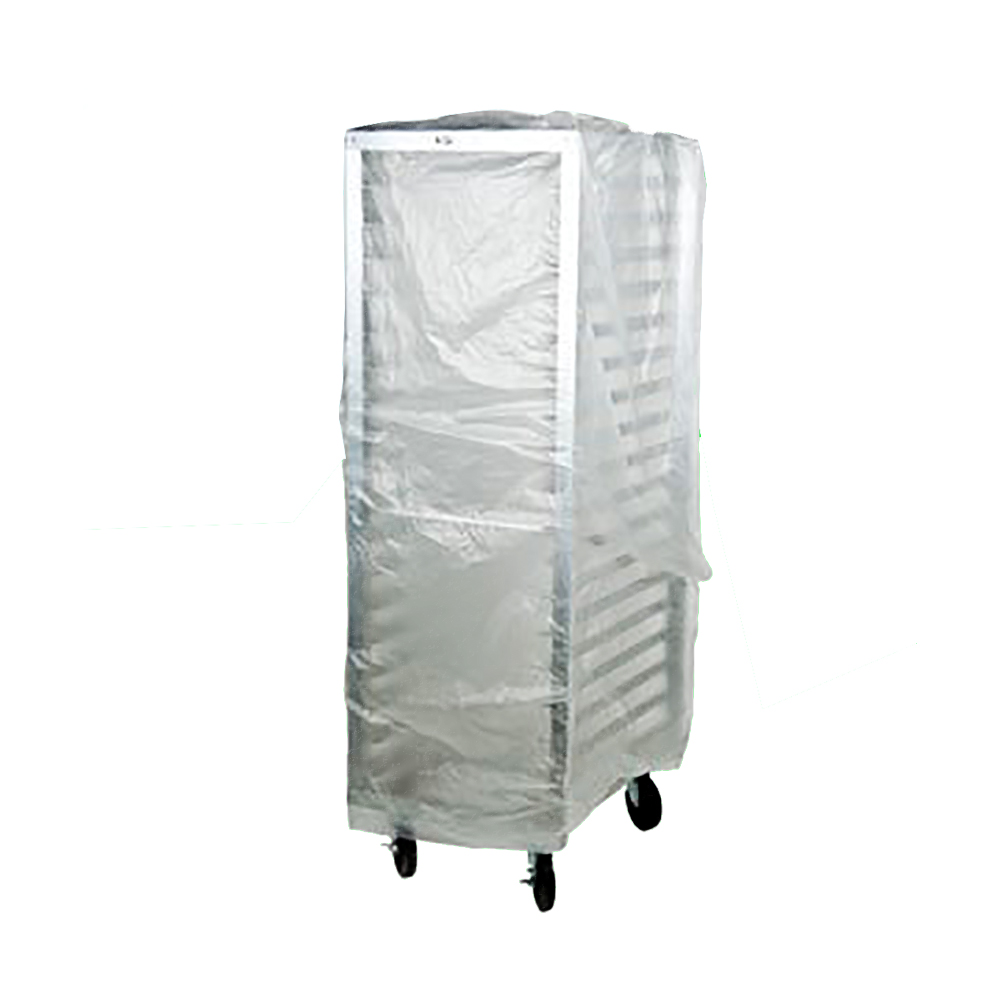 "Elkay Plastics Clear 52""x80"" Bun Pan Rack Cover BOR5280"