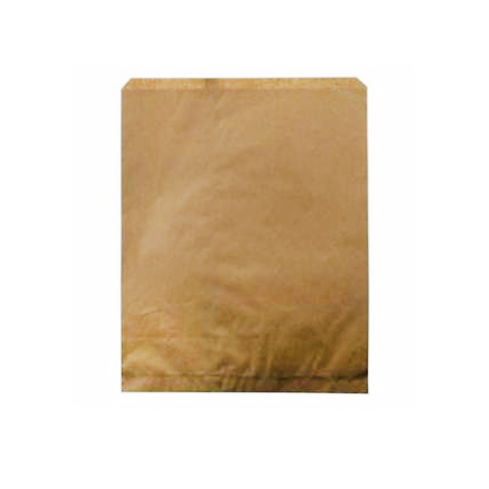 "Duro Bag Kraft 12""x15"" Plain Merchandise Bag 14871"