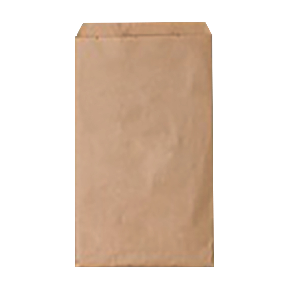 "Duro Bag Kraft 5""x7.5"" Plain Merchandise Bag 14975"