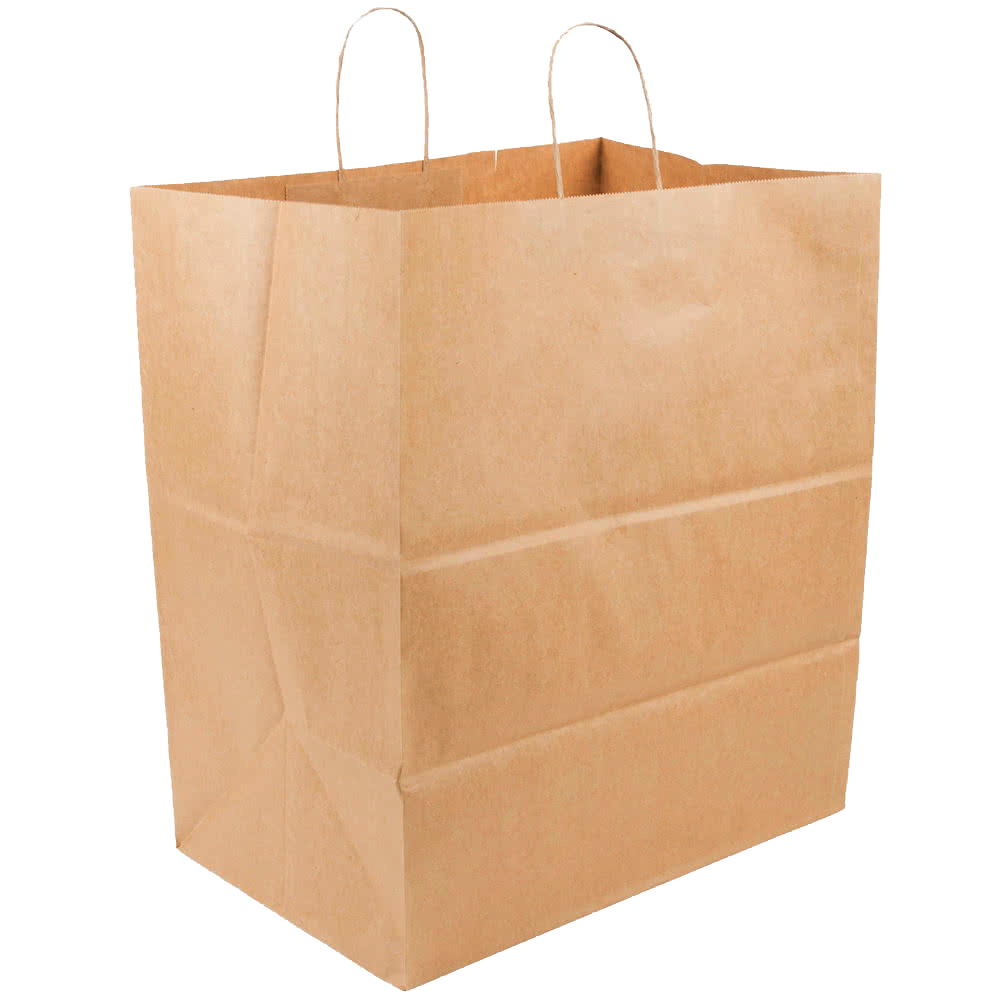 "Duro Bag Mfg. - Kraft 16""x11""x18.25"" Paper Grand Shopping Bag 87941"