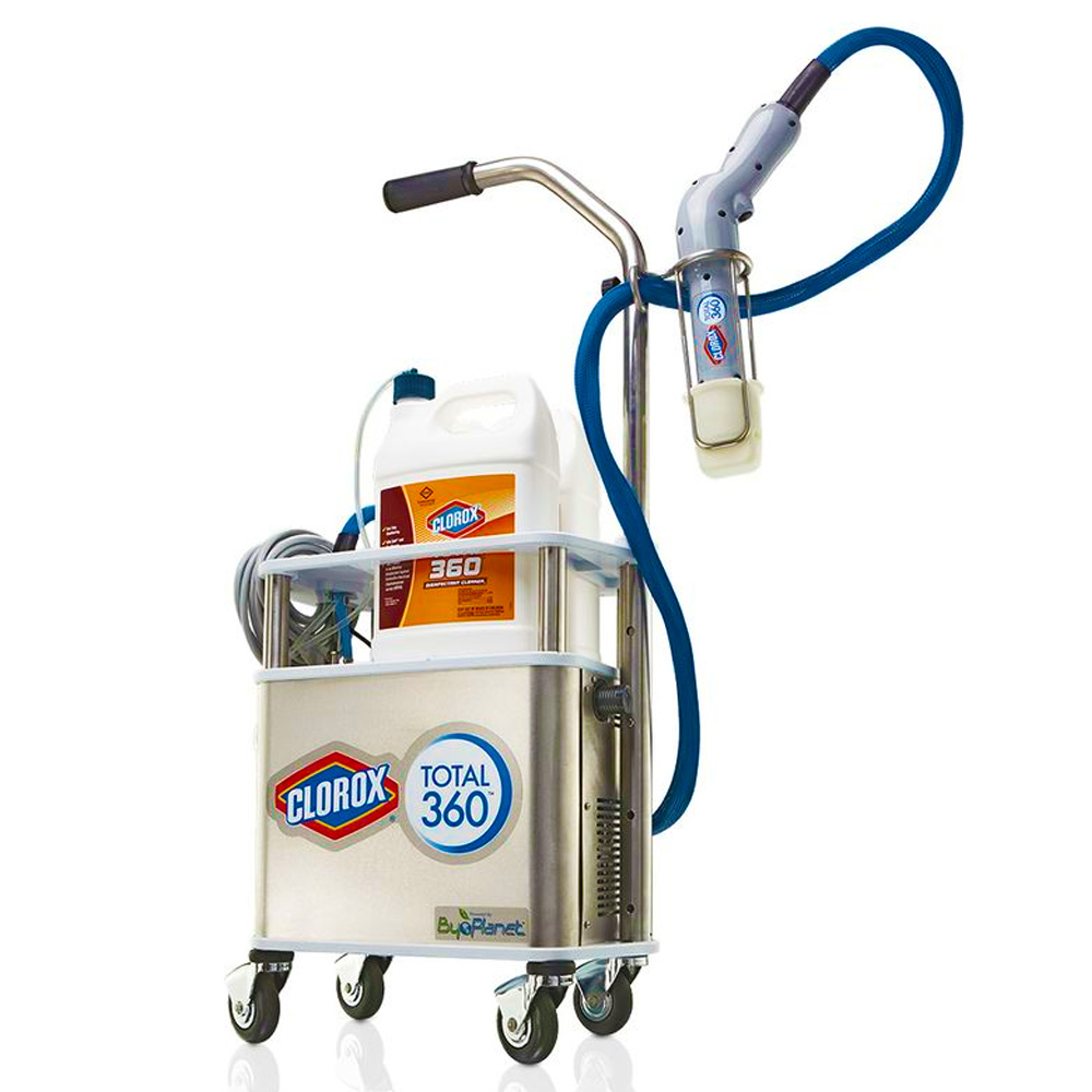 The Clorox Company - Clorox Total 360 Electrostatic Disinfecting and Sanitizing Sprayer System