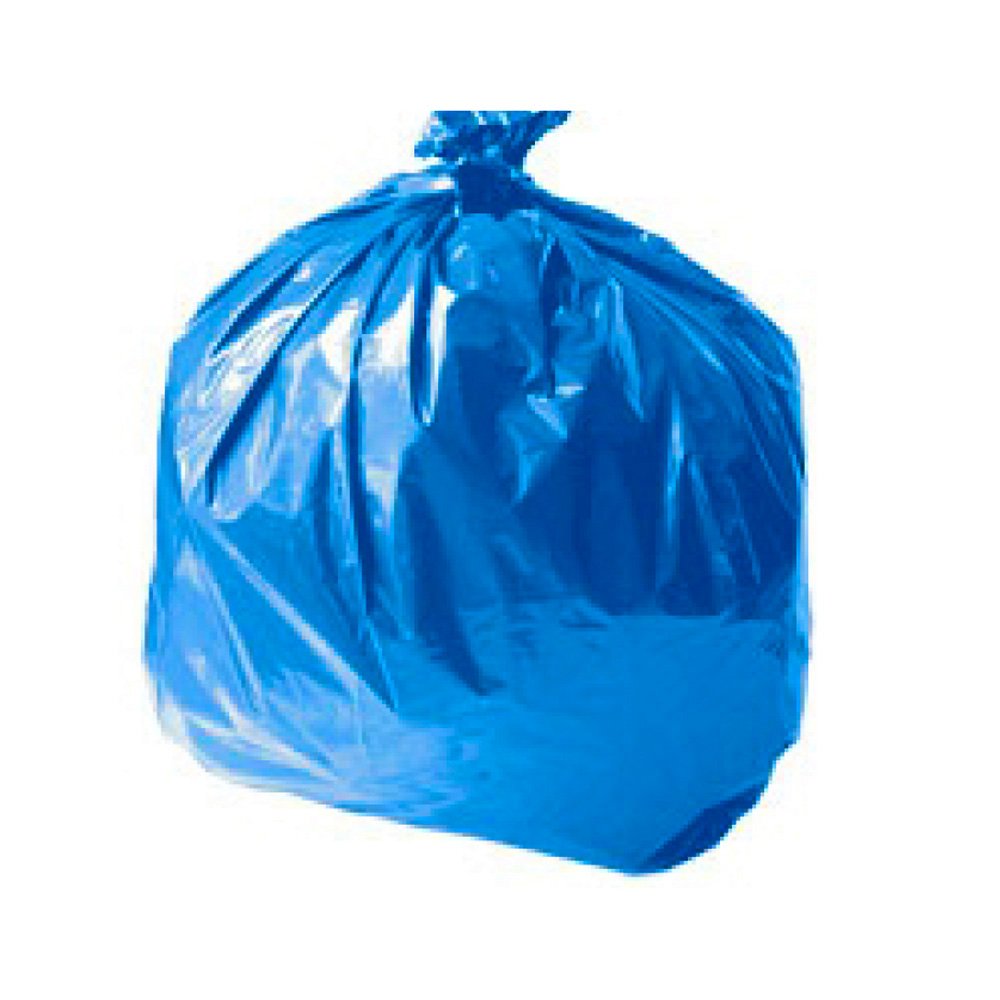 "VR Bags Blue 38""x55"" 55 Gallon Recycle Liner BLUE58"