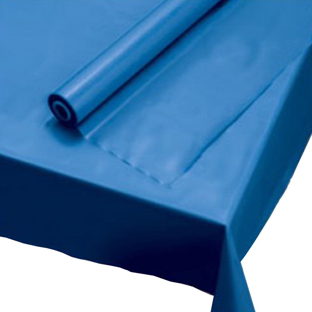 "Hoffmaster Blue 40""x100' Table Cover Rolls 113004"