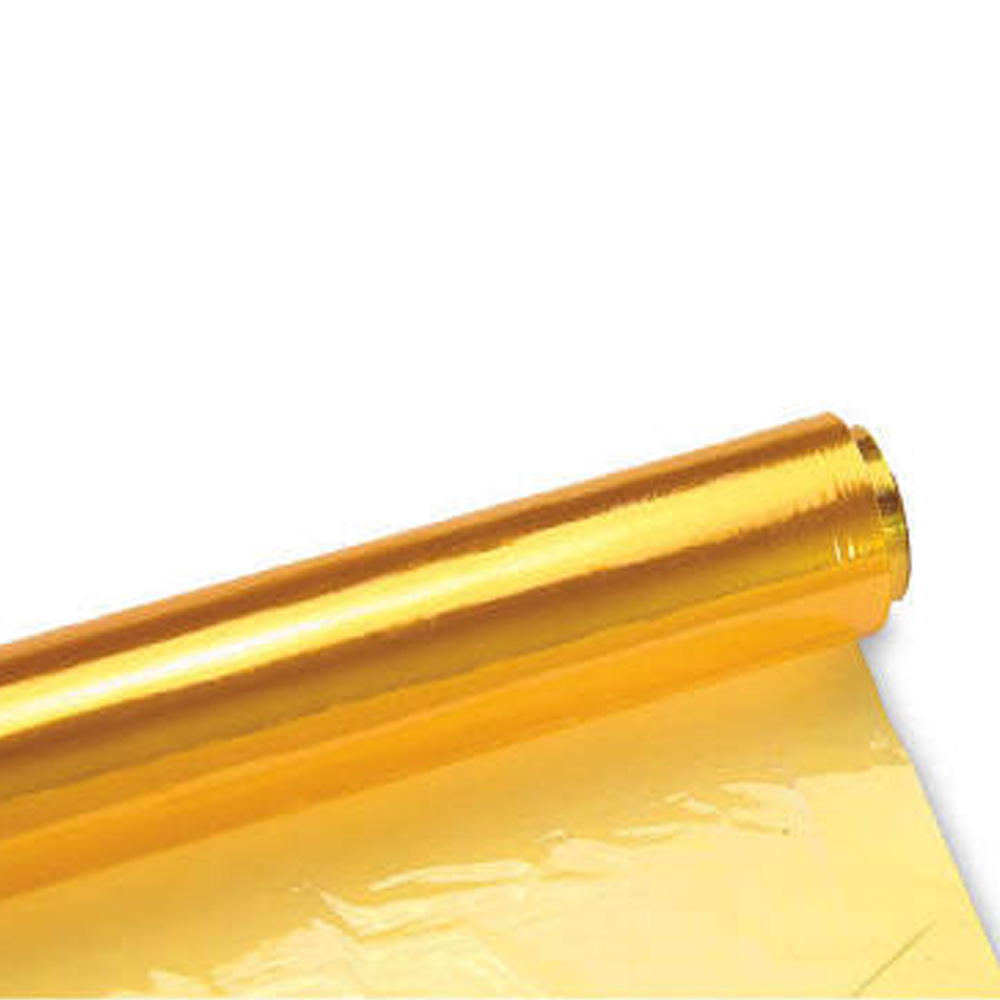 "Amerifilm Yellow 40"" Cellophane Roll 40X100Y"