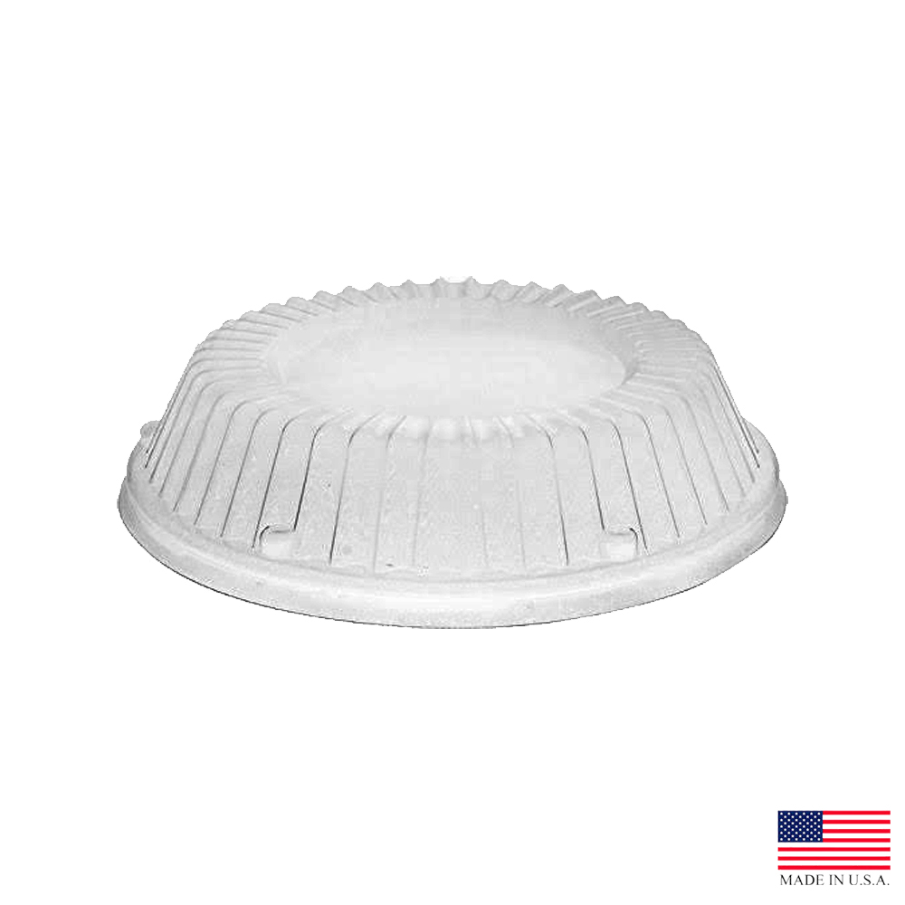 Dart - Clear Plastic Dome Lid for Bowls and Plates CL12BW