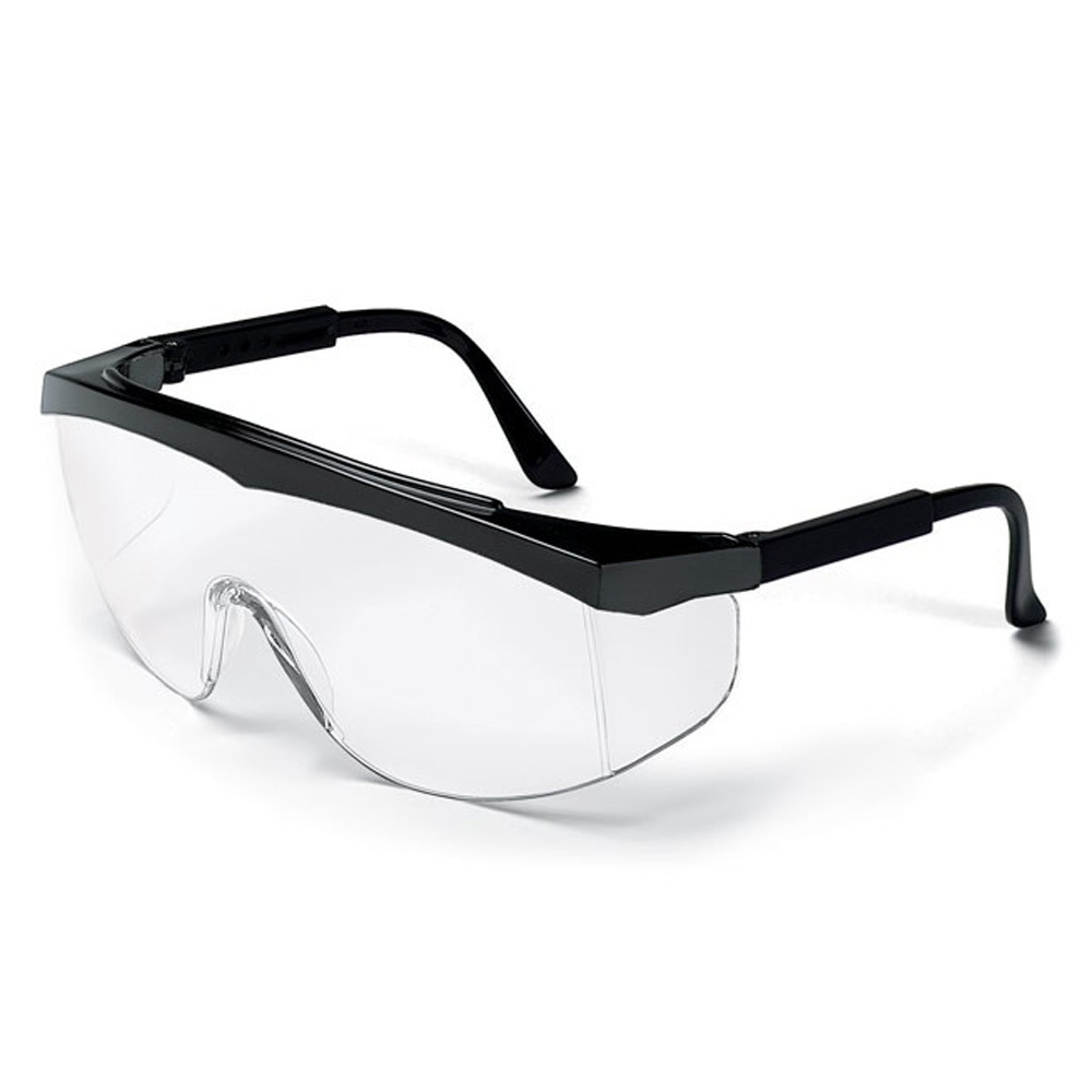 Ball Trading Clear Stratos Wrap Around Chemical Protection Glasses SS110