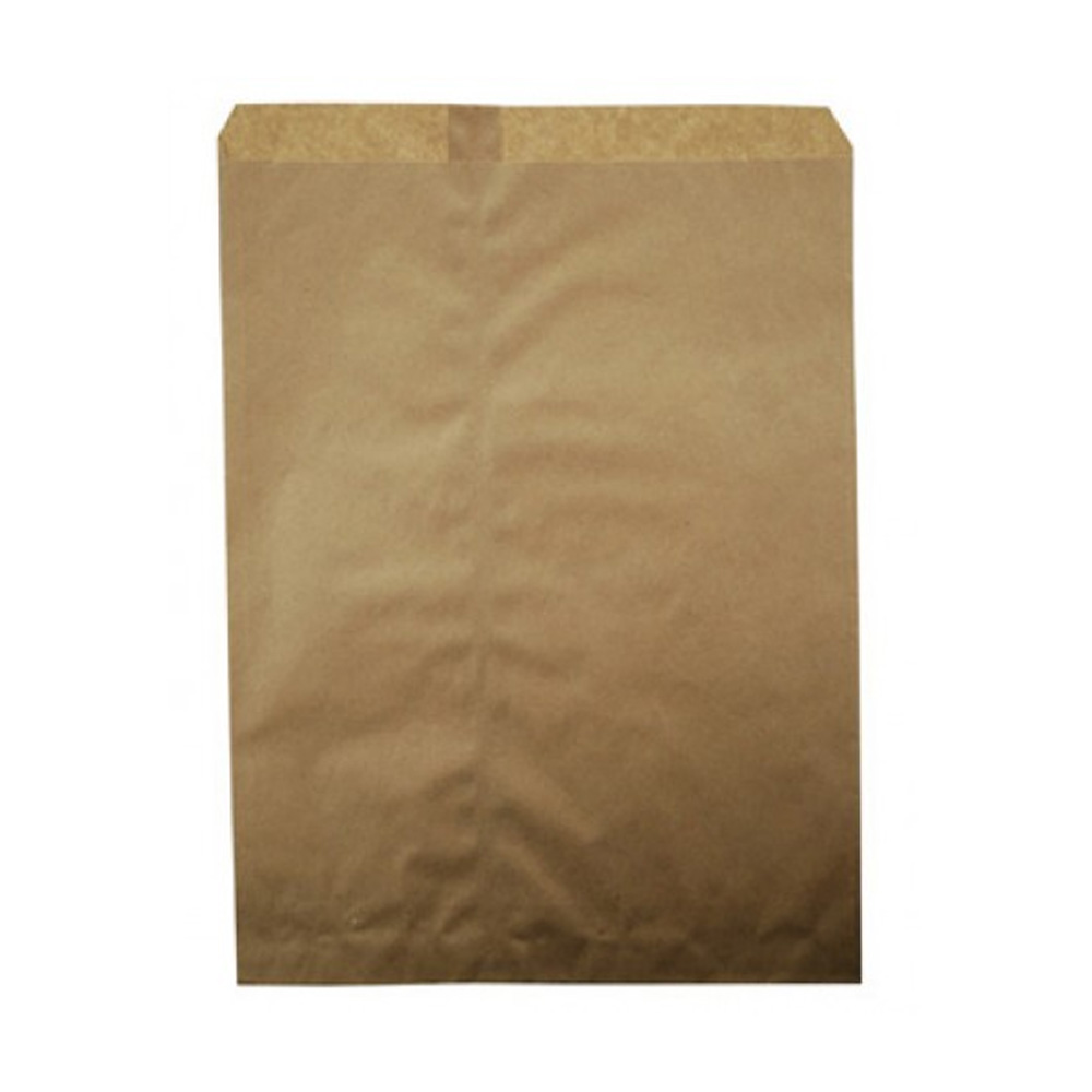 "Duro Bag Kraft 10""x13"" Plain Merchandise Bag 14898"