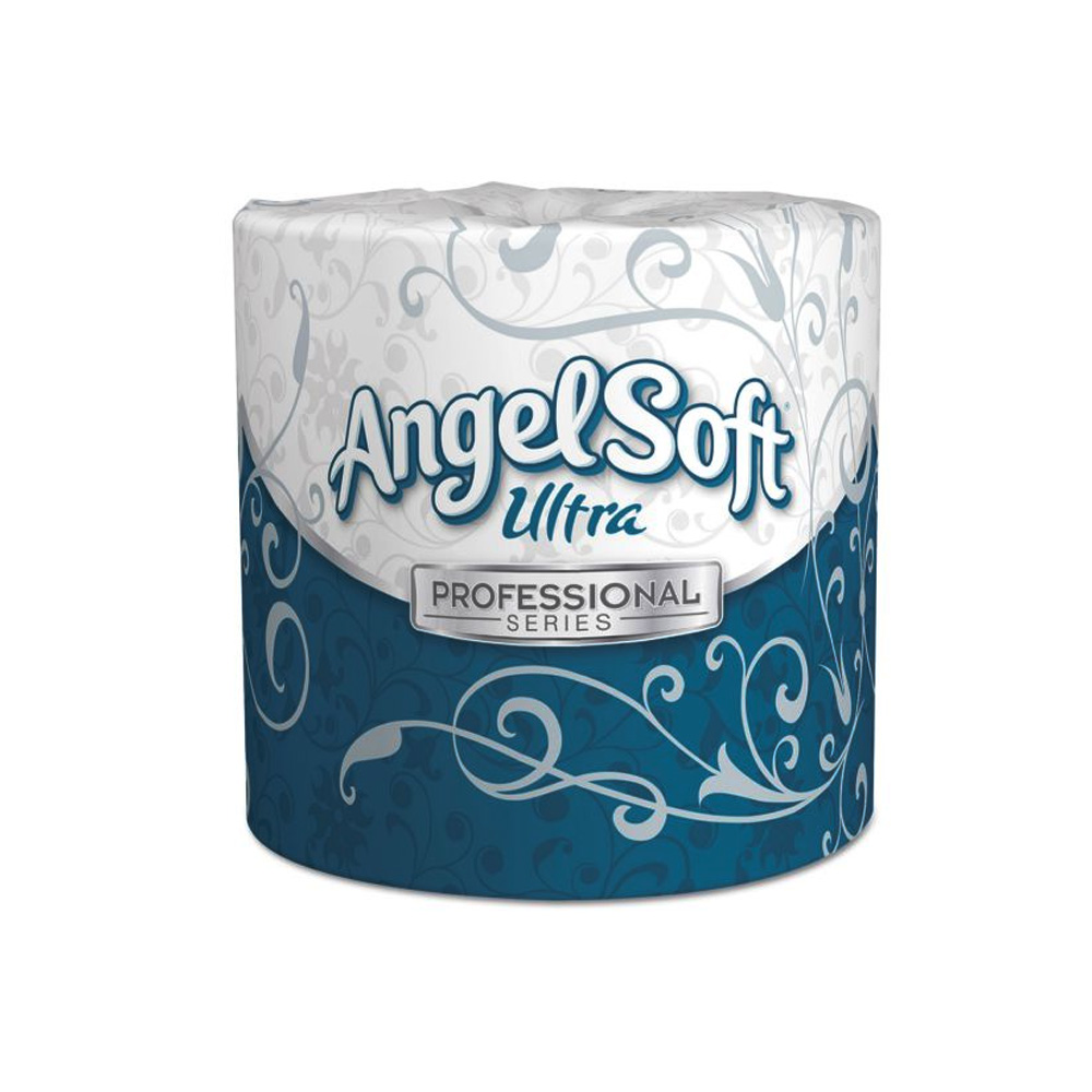Georgia Pacific White 2ply Angel Soft Ultra Professional Series - Premium Embossed Bathroom Tis