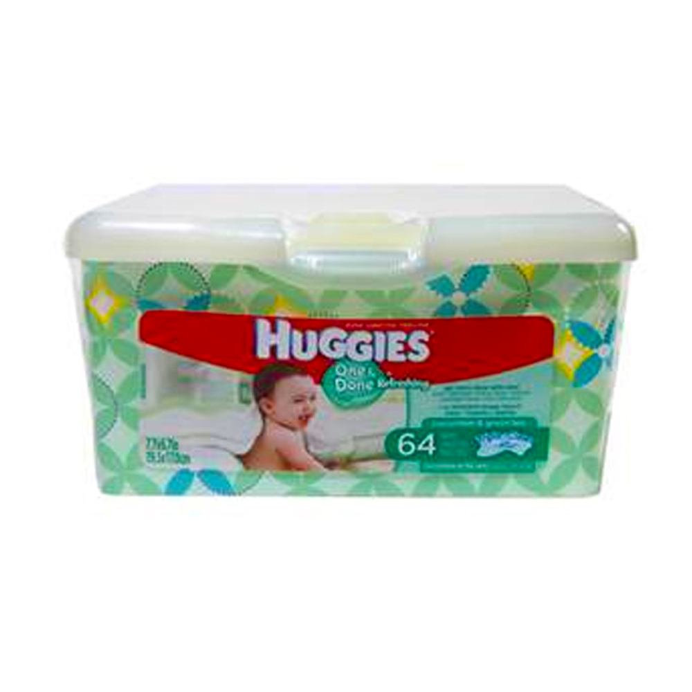 Huggies 64 ct Baby Wipes Tub 36000-39333