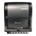 Georgia Pacific Smoke Enmotion Wall Mount Automated Touchless Towel Dispenser 59462
