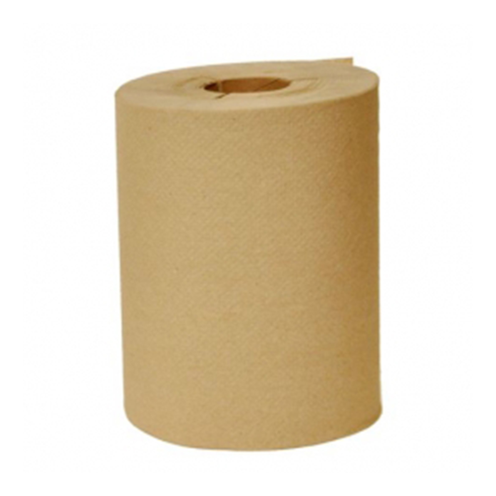 "Nittany Paper Natural 10""x800' / 2"" Core Embossed Roll Towel NP-610-800EN"