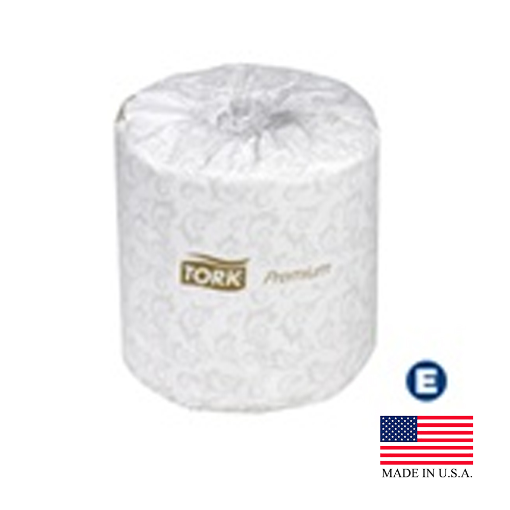 "Essity Professional White 4.0"" X 3.75"" / 2 ply    Tork Premium Bathroom Tissue Roll TM6511S"