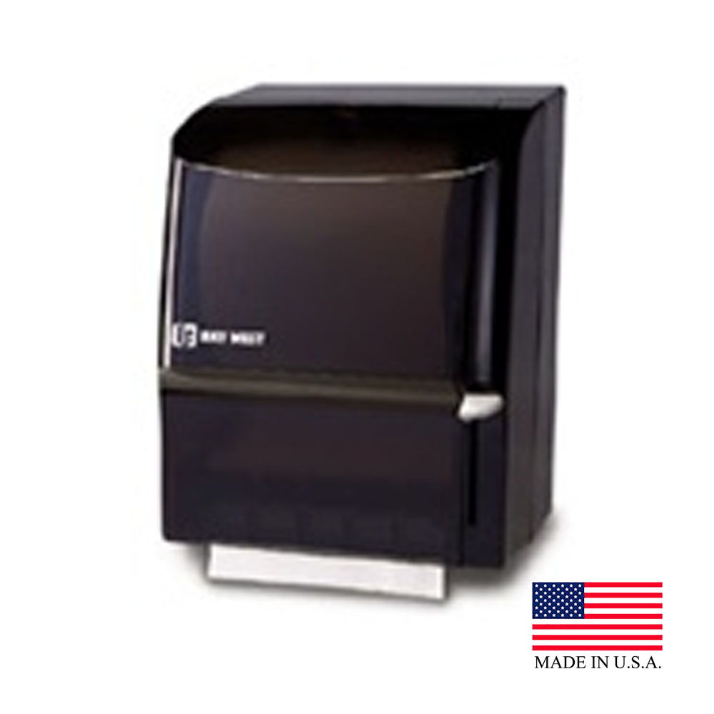 Wausau Black Silhouette Compatible Lever Towel Dispenser 89500