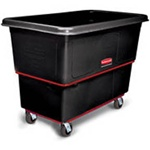 Rubbermaid Black Heavy Duty Utility Truck FG472700BLA