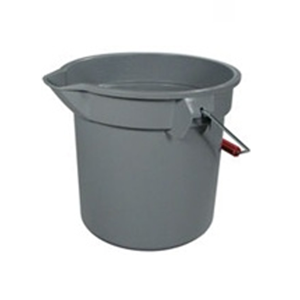 Rubbermaid Commercial - Brute Grey 14 Qt Round Bucket FG2614GRA
