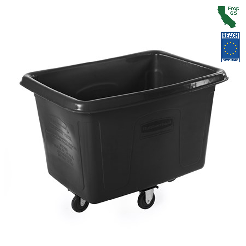 Rubbermaid Black 14 Cubit Ft Cube Truck FG461400BLA