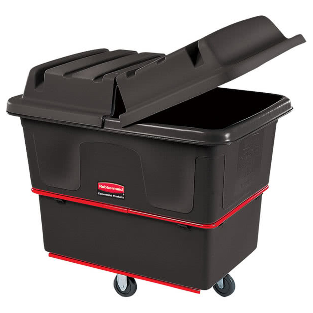 Rubbermaid Black 16 Cubit Utility Cube Truck FG6471600BLA