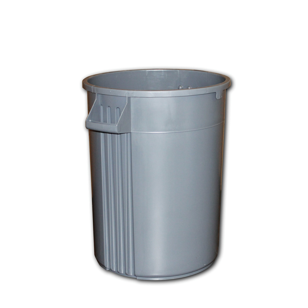 Impact Products Gray 44 Gallon Garbage Container  7744-3