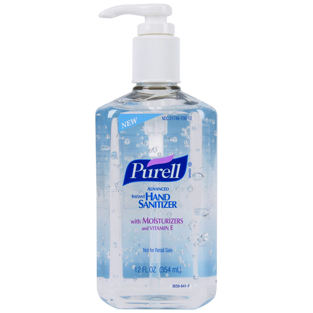 Gojo Ind. - Purell 12 oz. Advance Instant Hand Pump Sanitizer With Moisturizers and Vitamin E 3