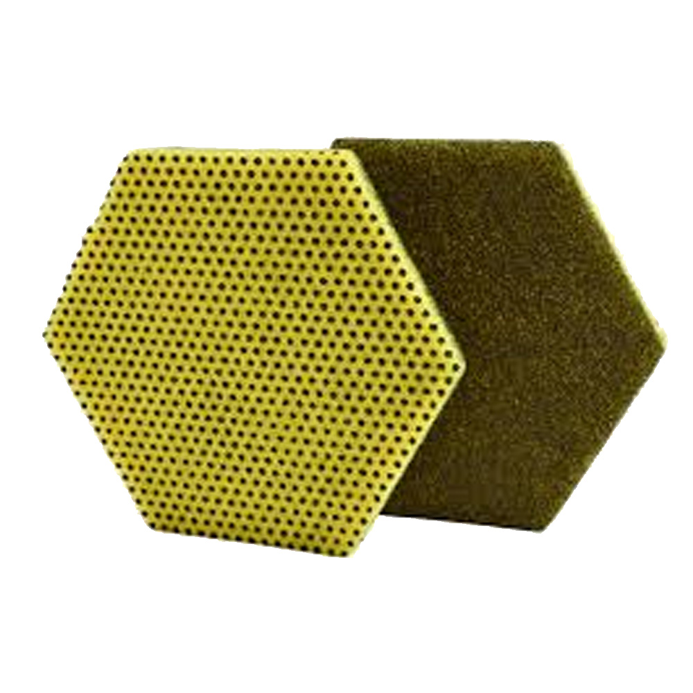 "3M Products - Hexagon 5.8""x5"" Dual Purpose Scouring Pad 96HEX"