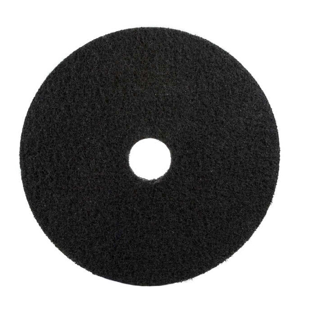 "3M Products Black 20"" Floor Stripper Pad 7200"