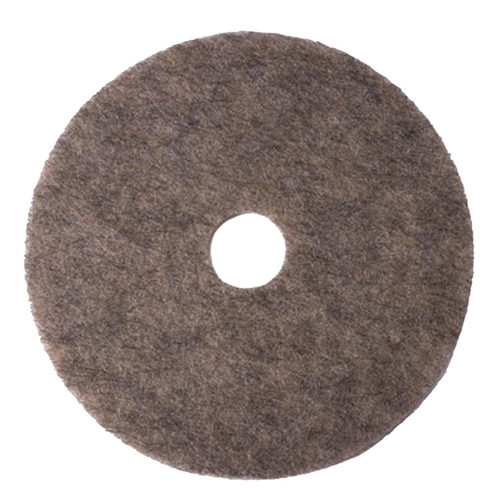 "3M Products - Grey 27"" Hogs Hair Burnish Floor Pad3700N"