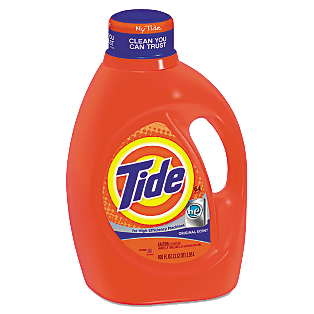 100oz Tide He Liquid Laundry Dete                 rgent PGC08886