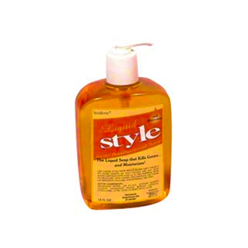 Inopak Orange 16/18oz Styel Antibacterial Hand Soap Pump 5031-430-02