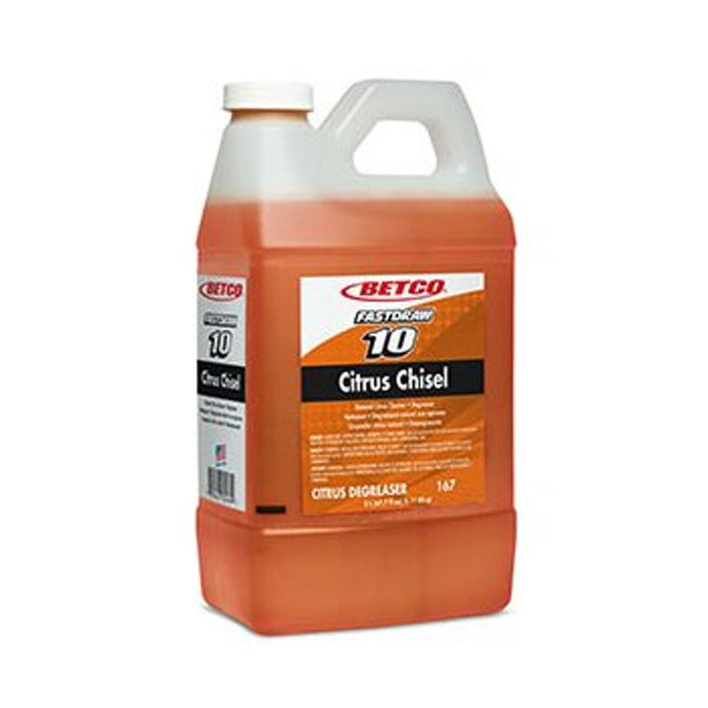 Betco Corp. - FastDraw 10 2 Liter Citrus Chisel   Non-Butyl Cleaner and Degreaser 1674700