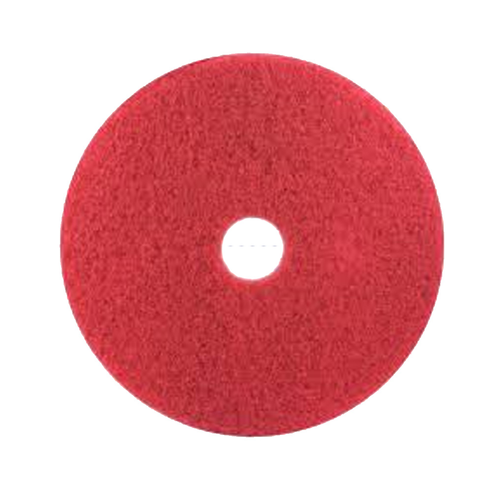 "3M Products Red 10"" Buffing Floor Pad 5100-10"