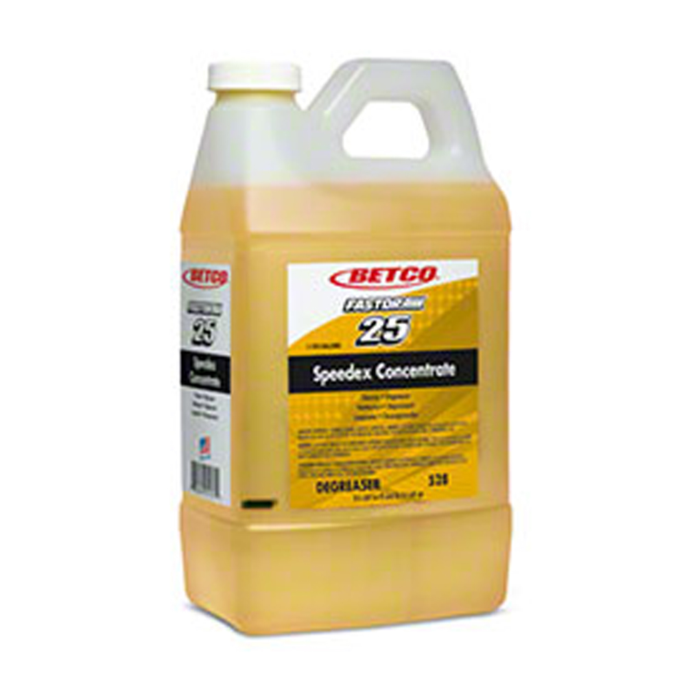 Betco 2 Liter Fast Draw 25 Speedex Concentrate    Degreaser (Variety of Surfaces) 5284700