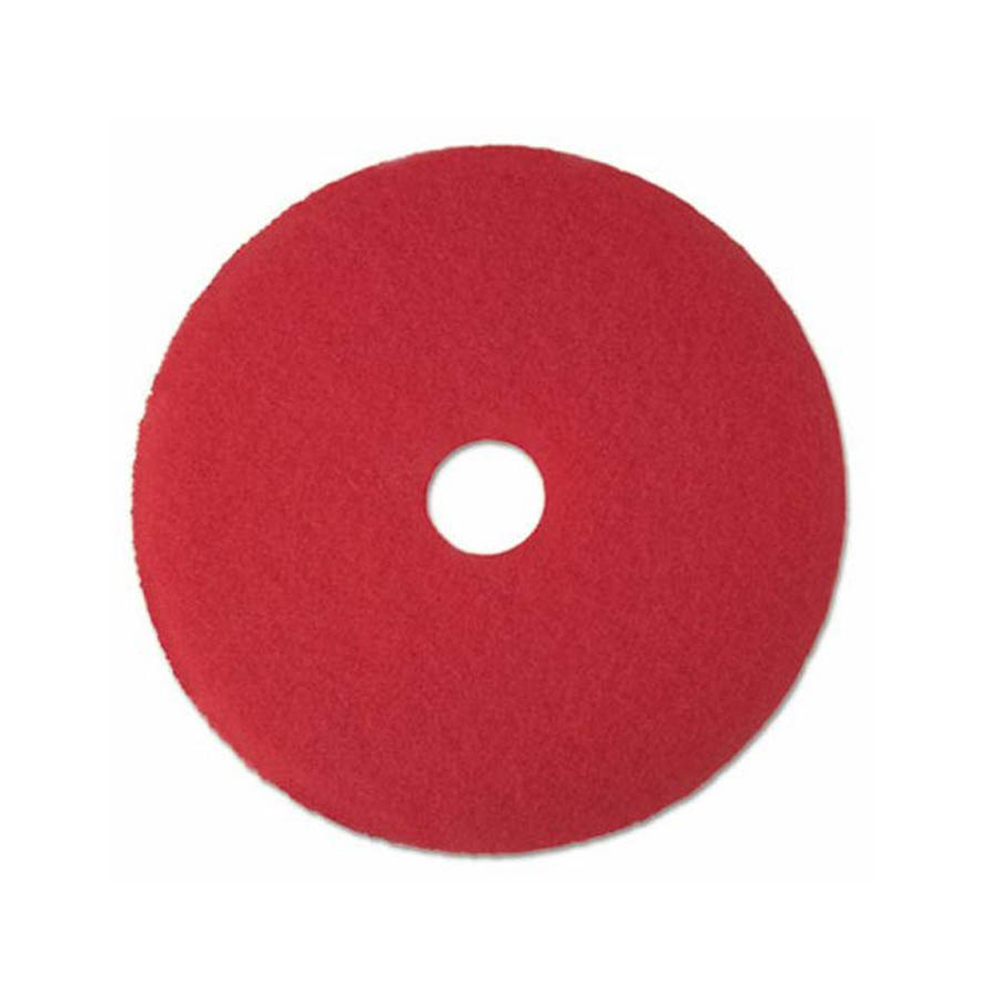 "5100 13"" RED BUFFING FLOOR PAD"