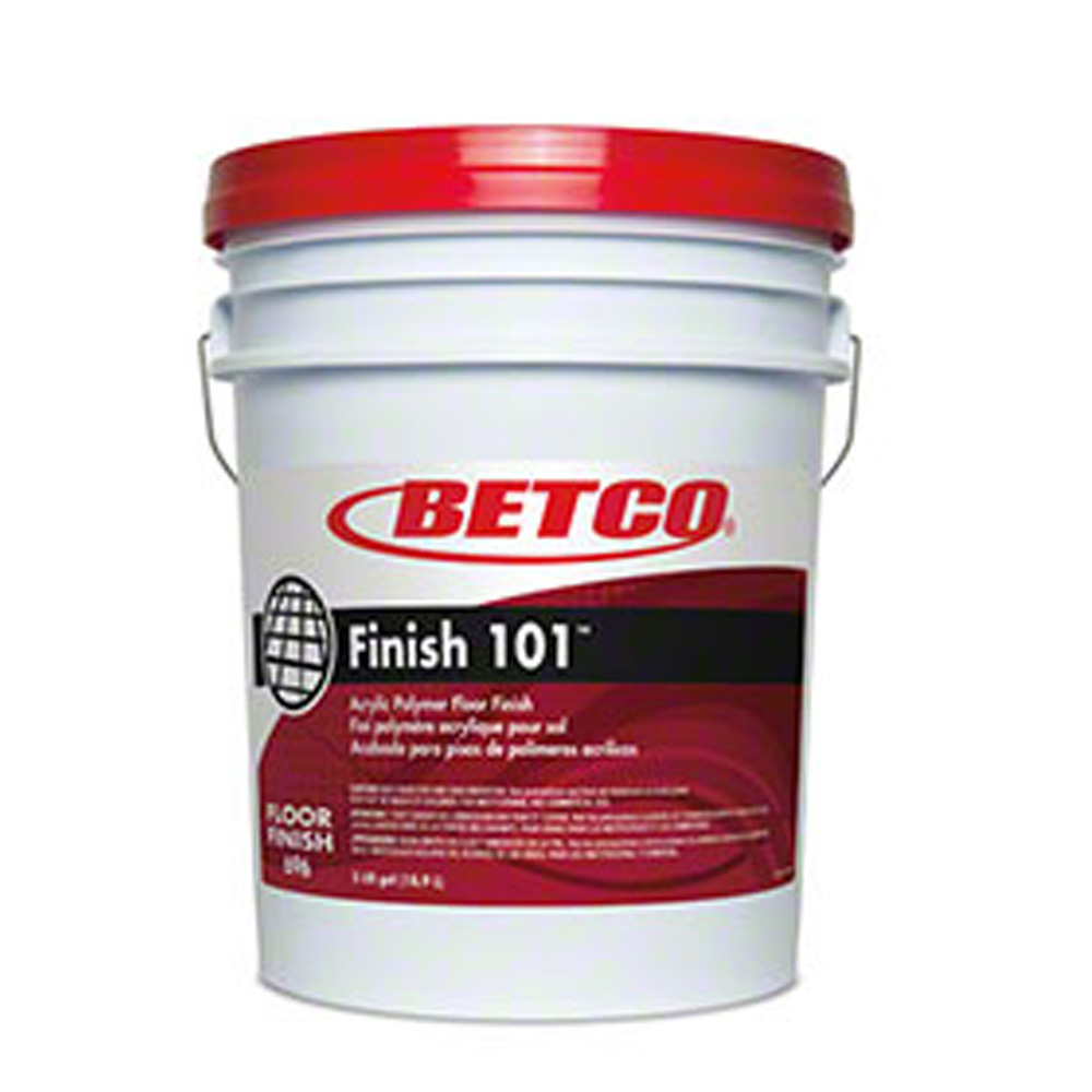 Betco 5 Gallon Pail Acrylic Polymer Floor Finish  101 6960500