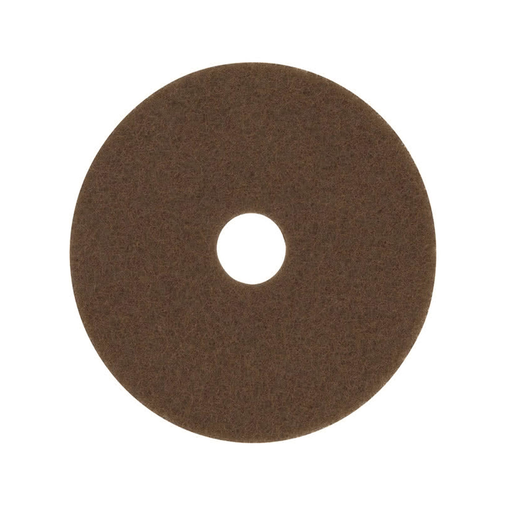 "3M Products Brown 17"" Stripper Floor Pad 7100"