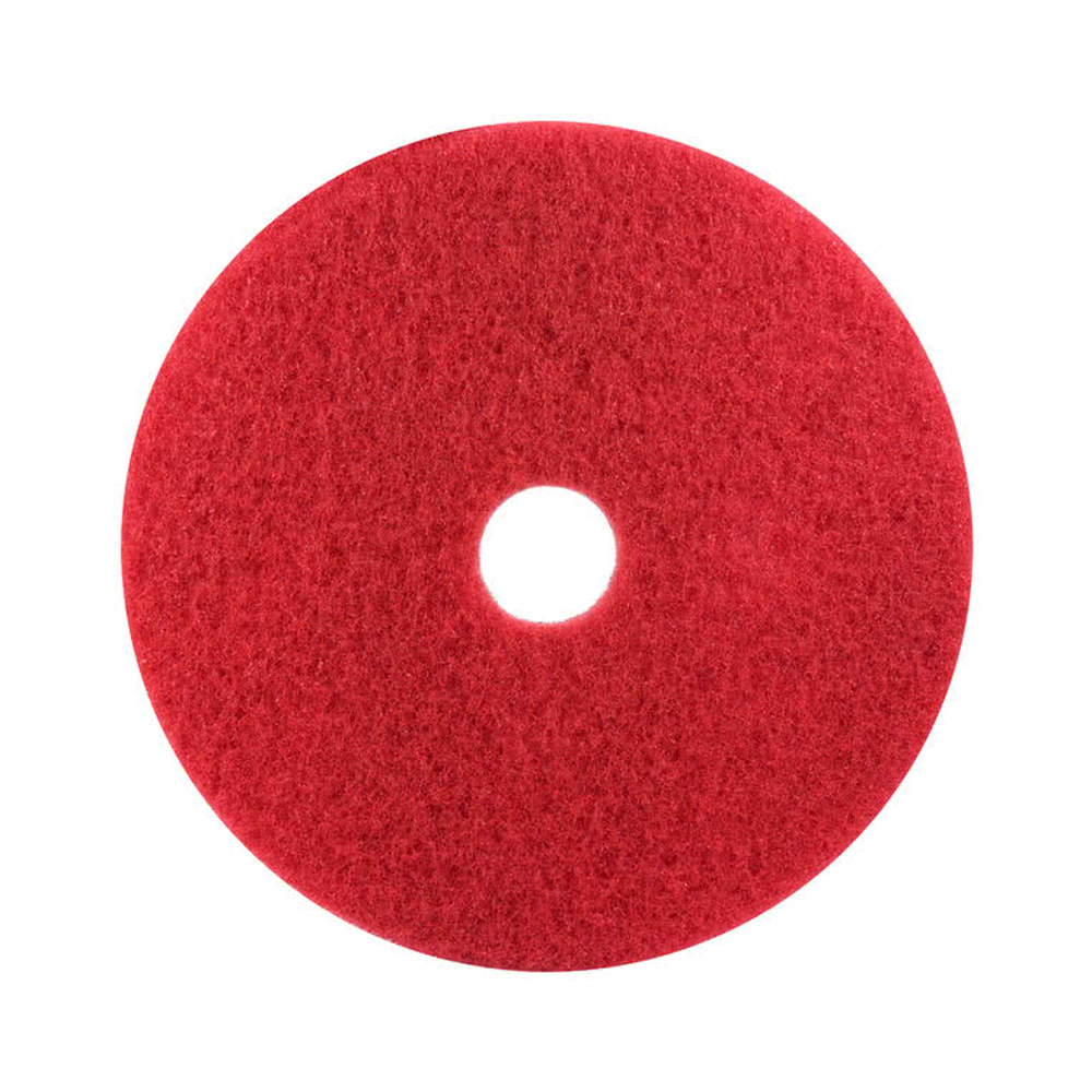 "3M Products Red 12"" Buffer Floor Pads 5100"