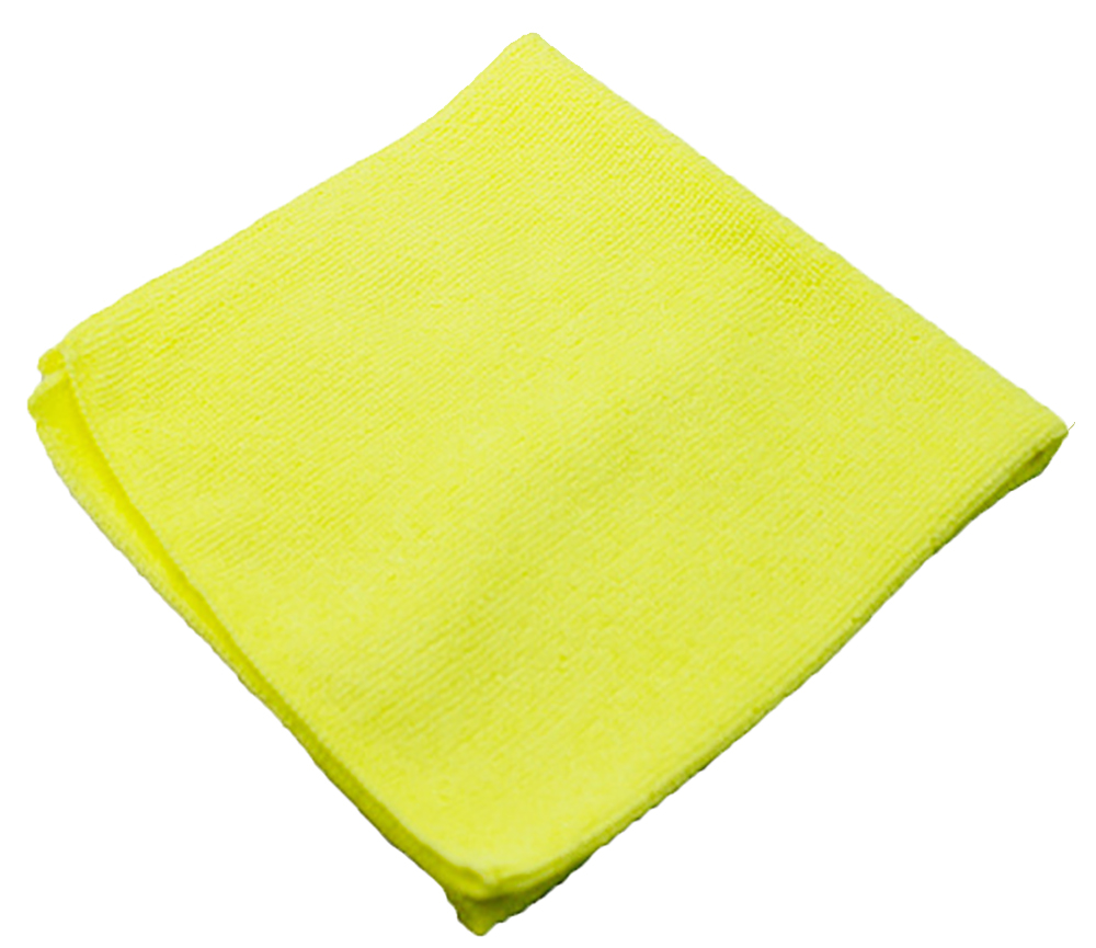 Impact Products Yellow Light Weight Microfiber    Cloth LFK701