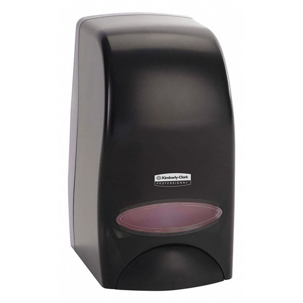 Kimberly Clark Black 1000ml Skin Care Dispenser   KC92145