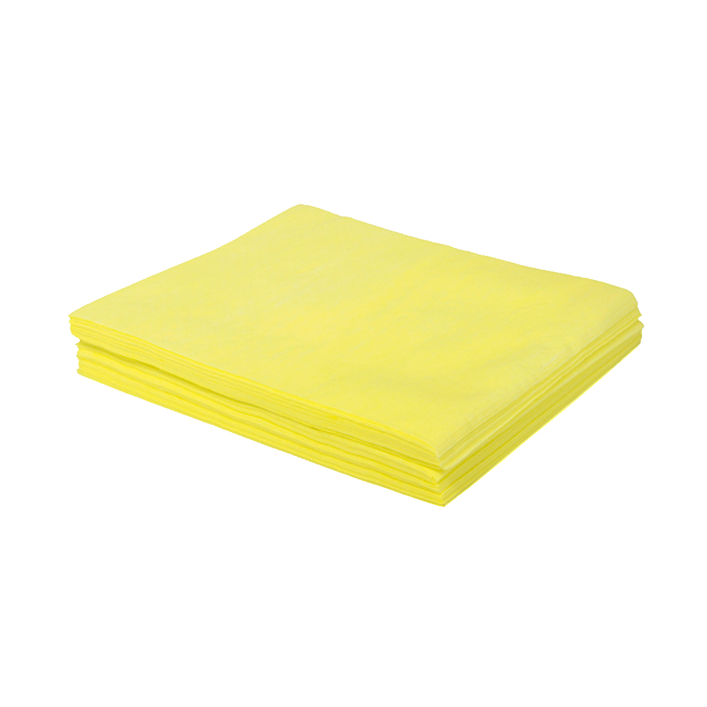 "Hospeco - Yellow 24""x24"" Square Treat Dust Cloth NDSMFPY2"